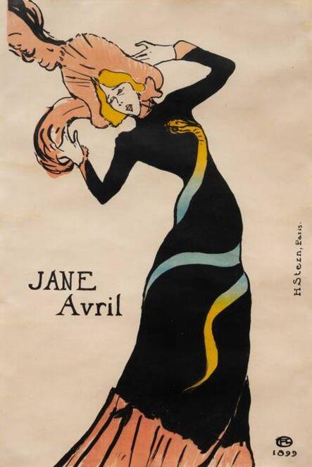 Henri de Toulouse-Lautrec, 'Jane Avril (Third State)', 1899