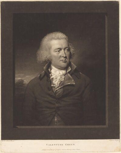 Valentine Green after Lemuel Francis Abbott, 'Valentine Green', 1788