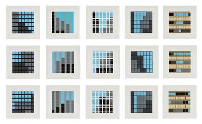 Julian Opie, 'Office Windows', 2017