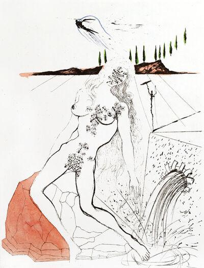 Salvador Dalí, 'Apollinaire - Woman at the Fountain', 1967