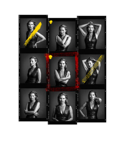 Andy Gotts, 'Kate Moss Contact Sheet ', 2013