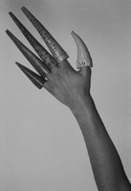 Jana Sterbak, 'Cones on Fingers', 1979-1995