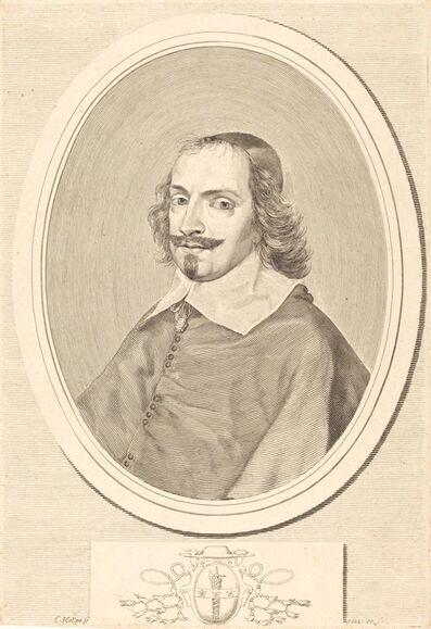 Claude Mellan, 'Cardinal Jules Mazarin'