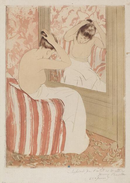 Mary Cassatt, 'The Coiffure', 1890-1891