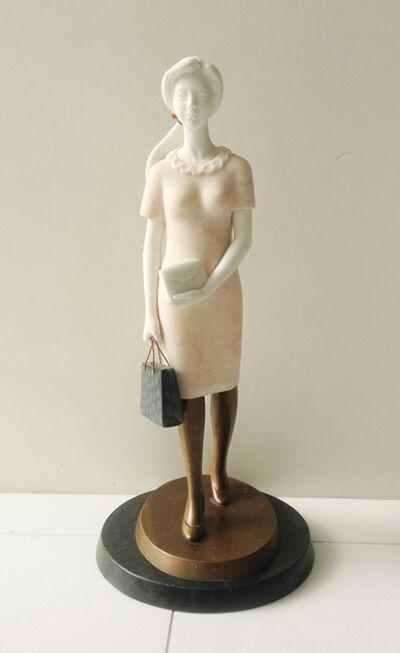 Heang Gyun Lee, '쇼핑하는 여인', 2013
