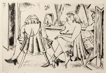 PAUL KLEINSCHMIDT, '(LADIES AT A DRESSING VANITY)', 1930