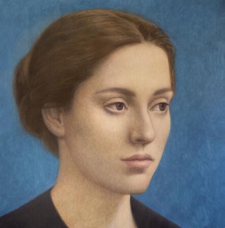 Alberto Gálvez, 'Azul Holbein', 2019