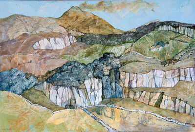 Jenny Grevatte, 'Mount Etna above the Cavagrande, Sicily', 2020