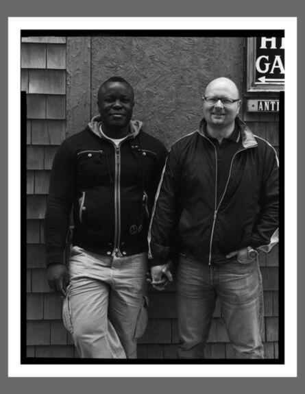 Robert Kalman, 'Reg & Aidan, Provincetown'