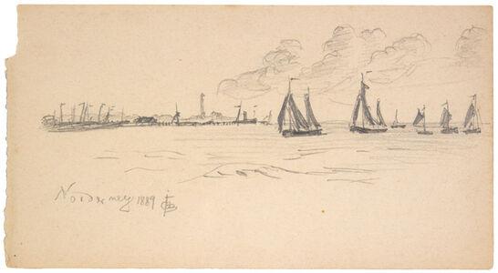 Oscar Bluemner, 'NORDERNEY', 1889