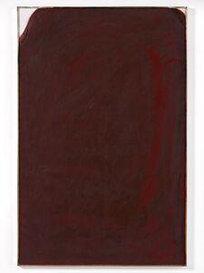 Arnulf Rainer, 'Übermalung Dunkelrot', 1958-61