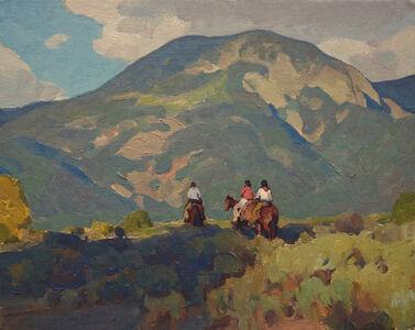 Glenn Dean, 'Taos Riders', 2018