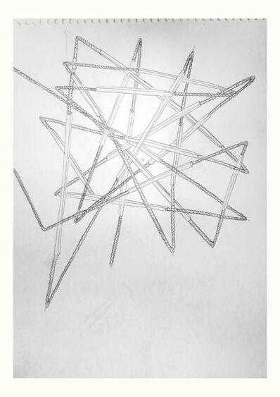 Osías Yanov, 'Sin título (curvar el hierro)', 2014
