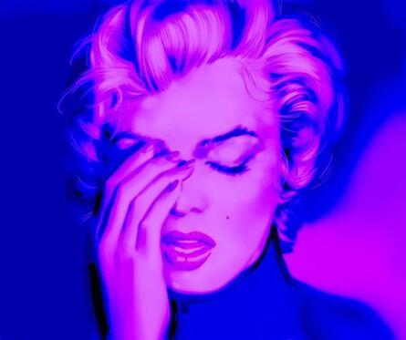 Metin Salih, 'Imperfection is Beauty (Purple)', 2016