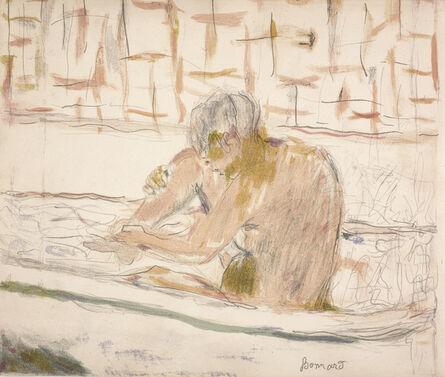 Pierre Bonnard, 'Woman Seated in Her Bath (Femme assise dans sa baignoire)', 1942
