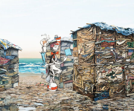 Jeff Gillette, 'Cat in the Hat Seascape Slum', 2004-2005