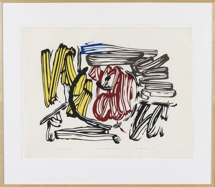 Roy Lichtenstein, 'Red & Yellow Apple unique exhibition proof', 1982
