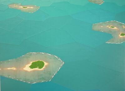 Chris Ballantyne, 'Atolls, Fractured Landscape', 2015