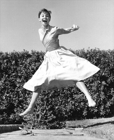 Philippe Halsman, 'Audrey Hepburn', 1955