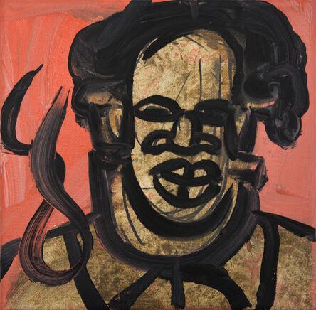 Jeffrey Spencer Hargrave, 'Afro African Mask Mao', 2018