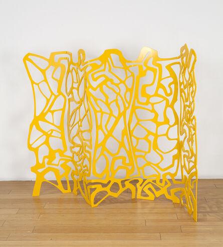 Jesse Small, '#goldenharlequin', 2018