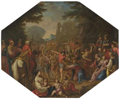 Circle of Claude Déruet, 'Road to Calvary', 1615/1620