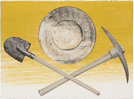 Ed Ruscha, 'PICK, PAN, SHOVEL', 1980