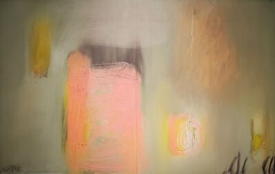Ulla Neigenfind, 'A Time Before Words: Grey, Pink', 2015