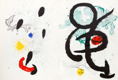 Joan Miró, 'Composition I & II from Derrière le Miroir ', 1965