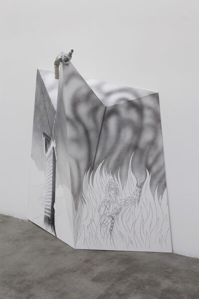 Jim Shaw, 'Dream Object (Tower in Flames)', 2013
