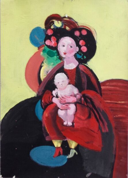Agron (Gon) Bregu, 'Untitled (woman and child)', 2000
