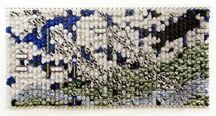 Jacob Hashimoto, 'The Answer to All Questions Makes the World Vanish', 2017