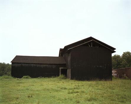 William Christenberry, 'Black Buildings, Newbern, Alabama, 1979', 1979