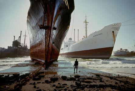 Steve McCurry, 'Ship breaking yard, near Karachi, Pakistan', 1985