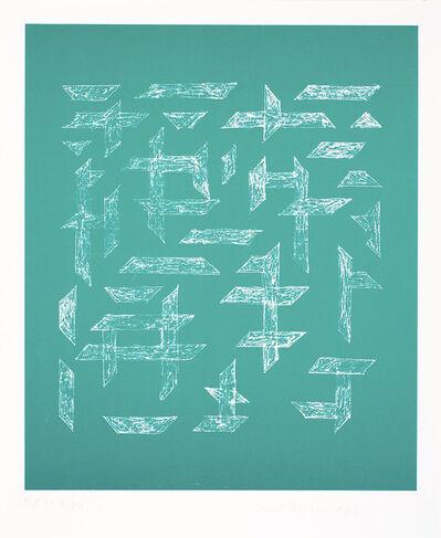 Anni Albers, 'Double Impression III', 1978