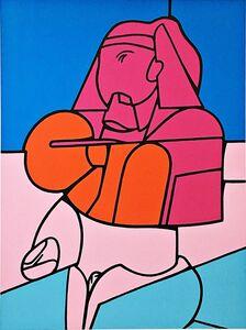 Valerio Adami, 'Untitled, from the Swiss Society of Arts Portfolio', 1970