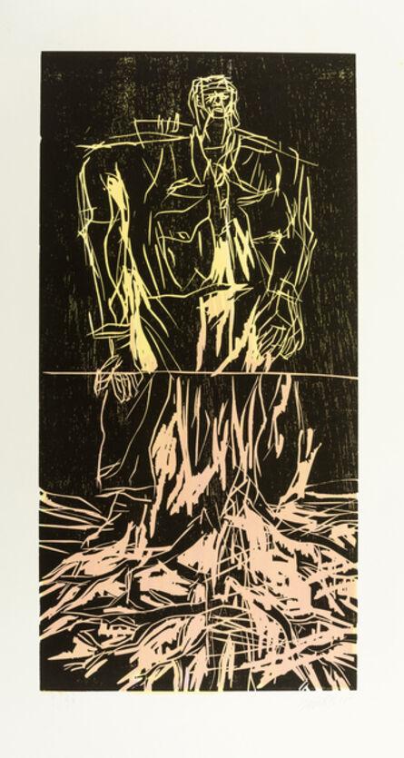 Georg Baselitz, 'Geteilter Held (Remix)', 2008