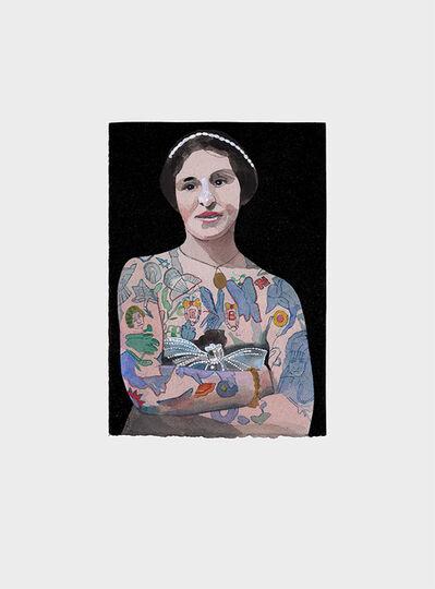 Peter Blake, 'Tattooed People, Emily', 2015
