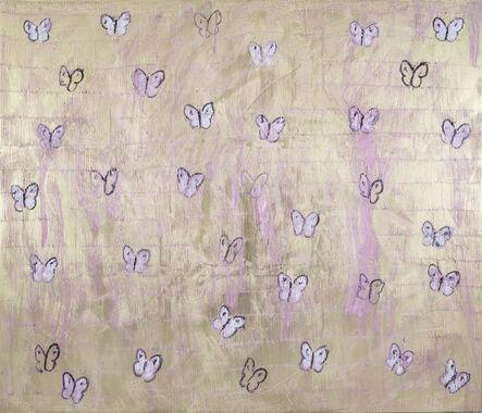 Hunt Slonem, 'Pink Butterflies', 2017