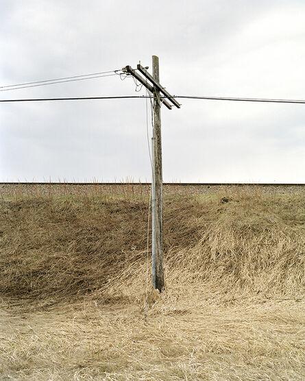 Denis Rioux, 'Untitled (grass and post) /Sans titre (herbe et poteau)', 2020