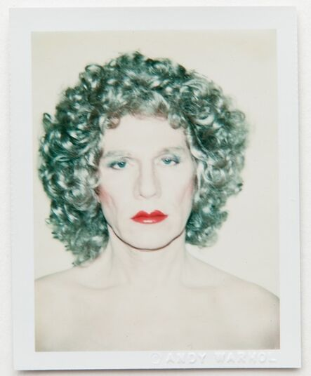 Andy Warhol, 'Andy Warhol, Polaroid Self-Portrait in Drag, 1981', 1981