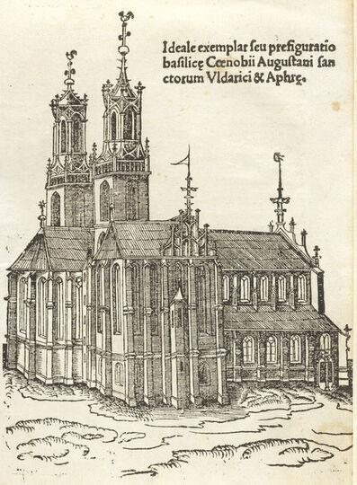 Leonhard Beck and Berno of Reichenau, 'Gloriosorum christi confessorum Uldarici & Symperti', 1516