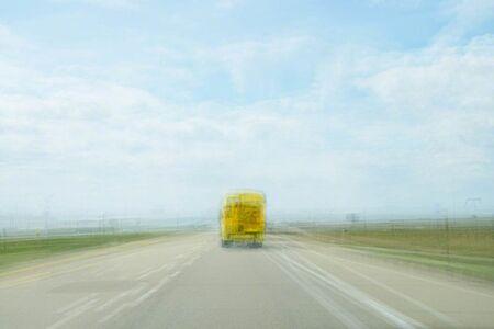 Bill Anderson (b. 1952), 'School Bus', 2013