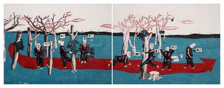 Wang Jinsong, 'Long March Rock 'n' Roll 长征摇滚 ', 1990