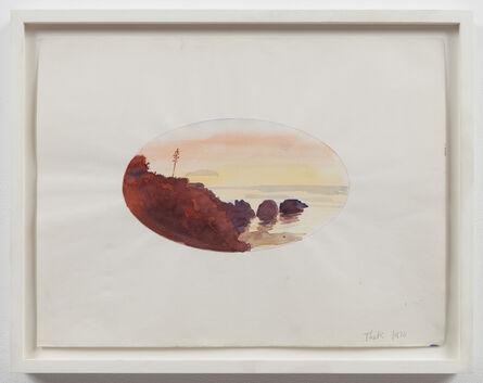 Paul Thek, 'Untitled (oval sunset)', 1970