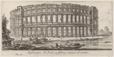 Giovanni Battista Piranesi, 'Anfiteatro di Pola in Istria', 1748