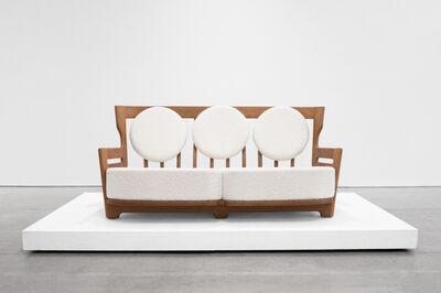 """Guillerme et Chambron, '""""Juliette"""" Oak Sofa for Votre Maison', 1950-1959"""