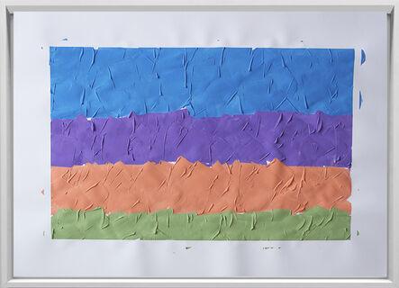 Rodrigo González Castellanos, 'Desgaste de la psicología del color, Fantasía', 2020