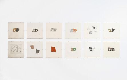 Robert Mangold (b.1937), 'Pages', 1989