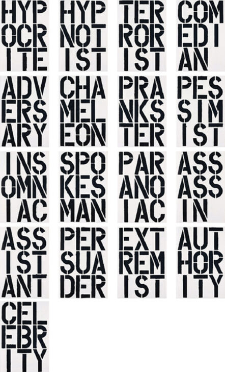 Christopher Wool, 'Black Book (1989) (signed)', 1989